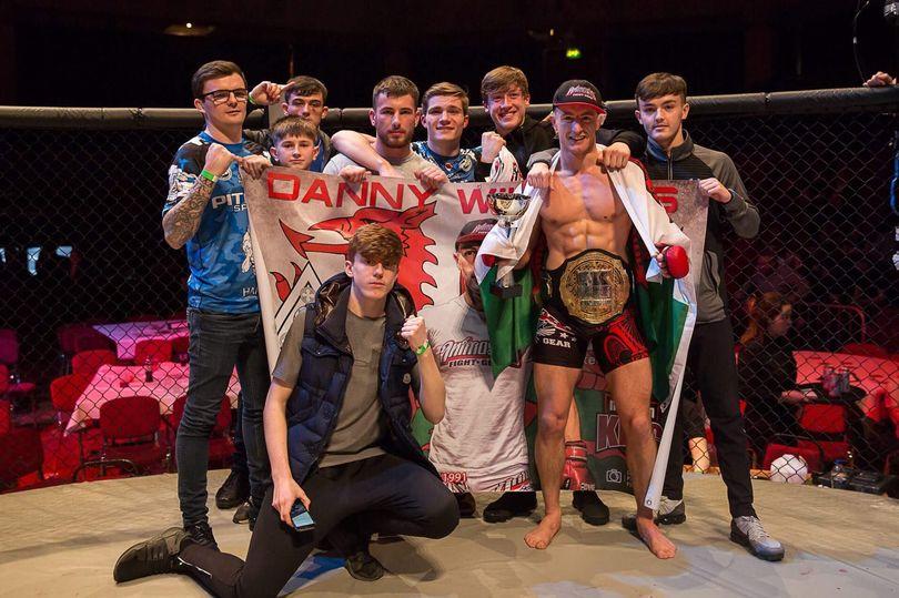 Pwllheli fighting machine Danny Williams lands top title