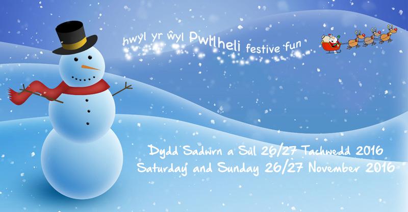 Hwyl yr Ŵyl Nadolig Pwllheli Christmas Festive Fun