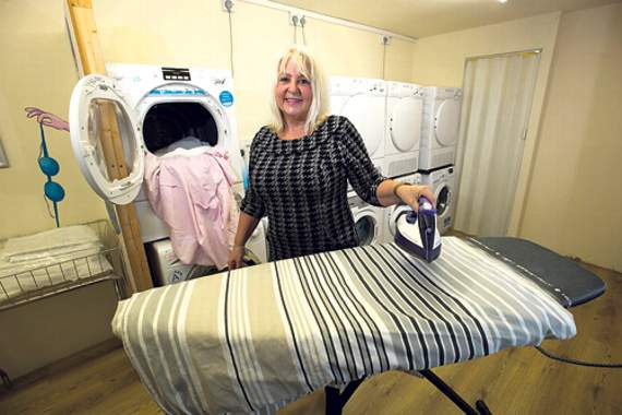 Pwllheli laundry company gets £15,000 for refurbishment