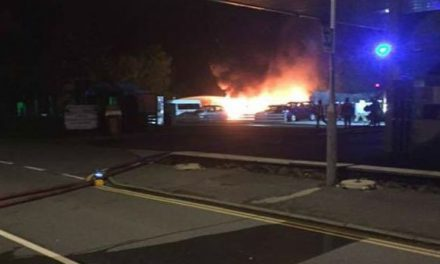 Blaze at Pwllheli garage destroys two buses