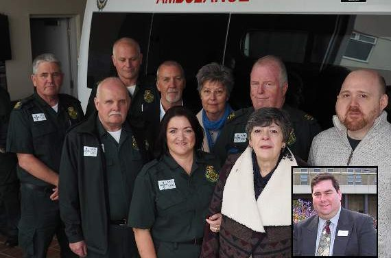 Ambulance named in John's memory