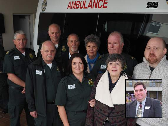 Ambulance named in John's memory