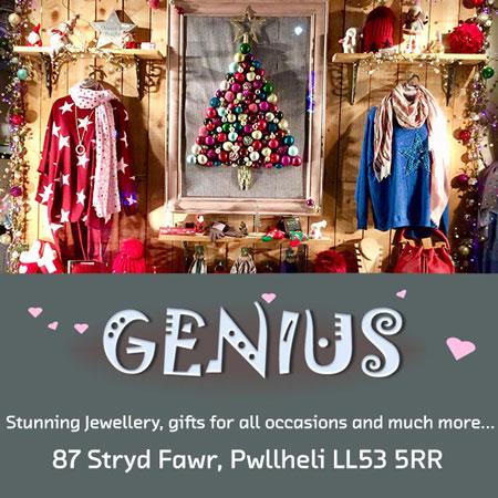 Genius Gift Shop, Pwllheli